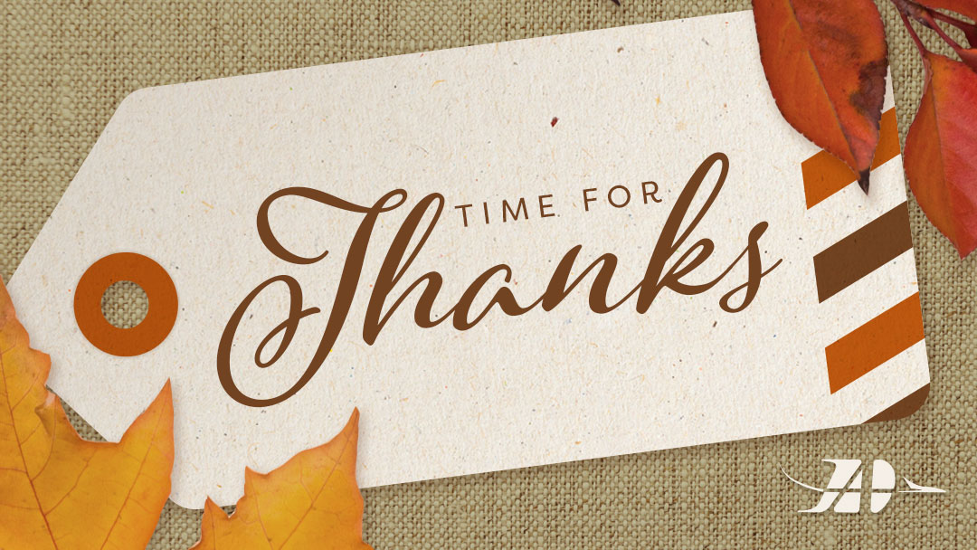 thanksgiving blog graphic by duluth international airport