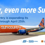 Sun Country Expands Service